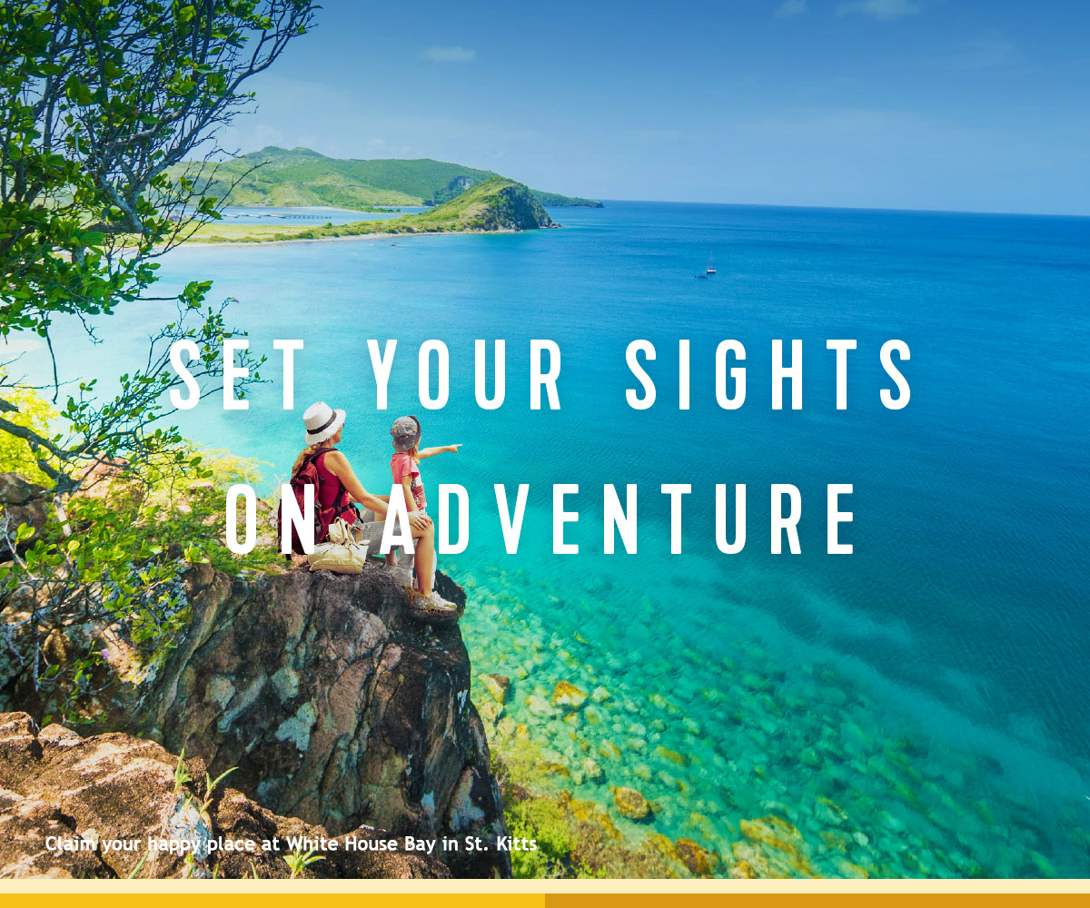 SET YOUR SIGHTS ON ADVENTURE