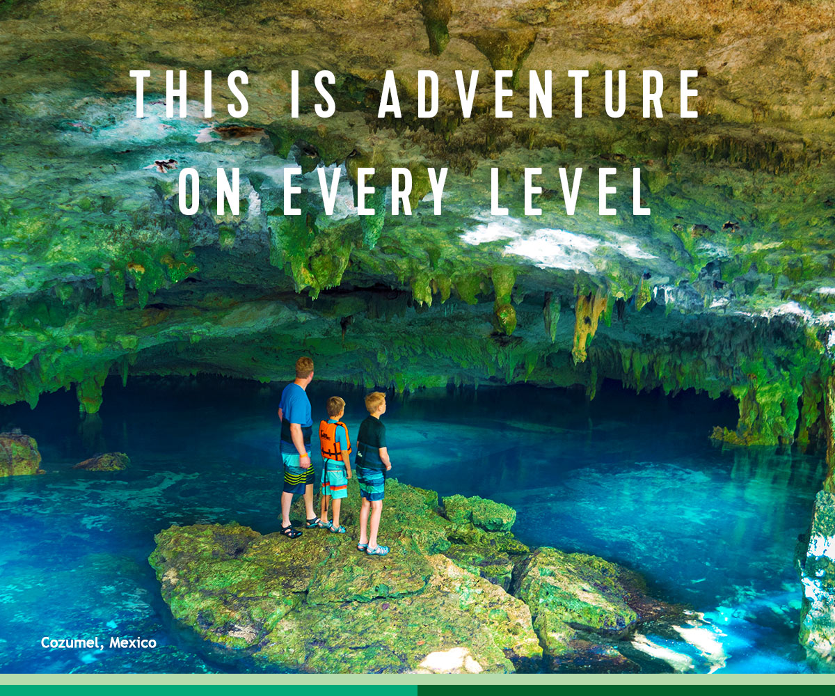 THIS IS ADVENTURE ON EVERY LEVEL
