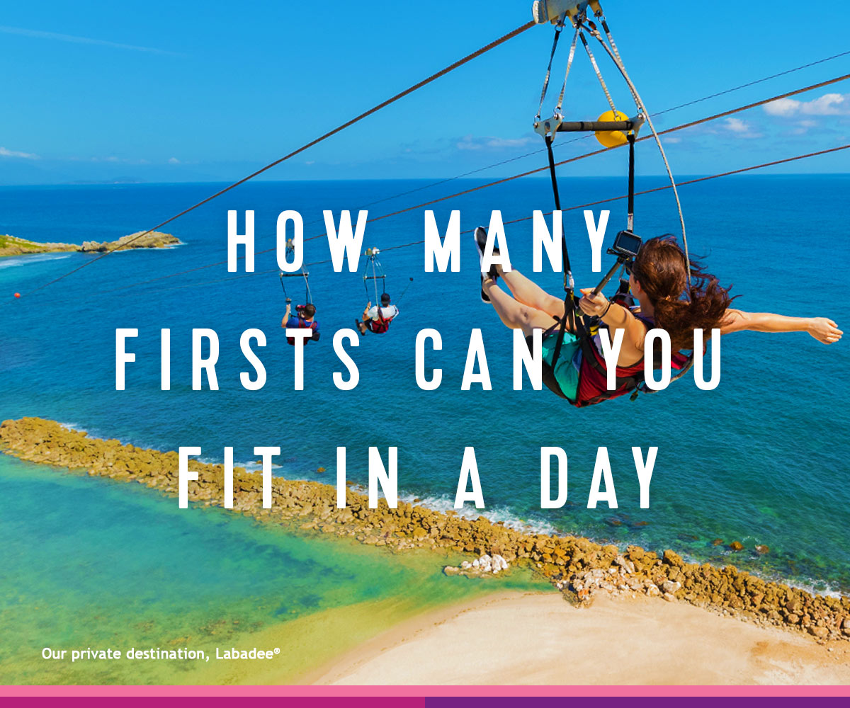 How many firsts can you fit in a day?