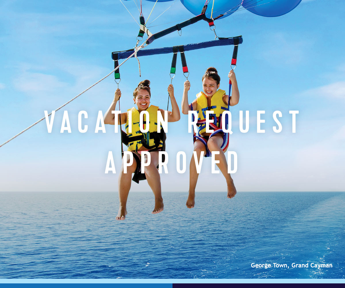 VACATION REQUEST APPROVED