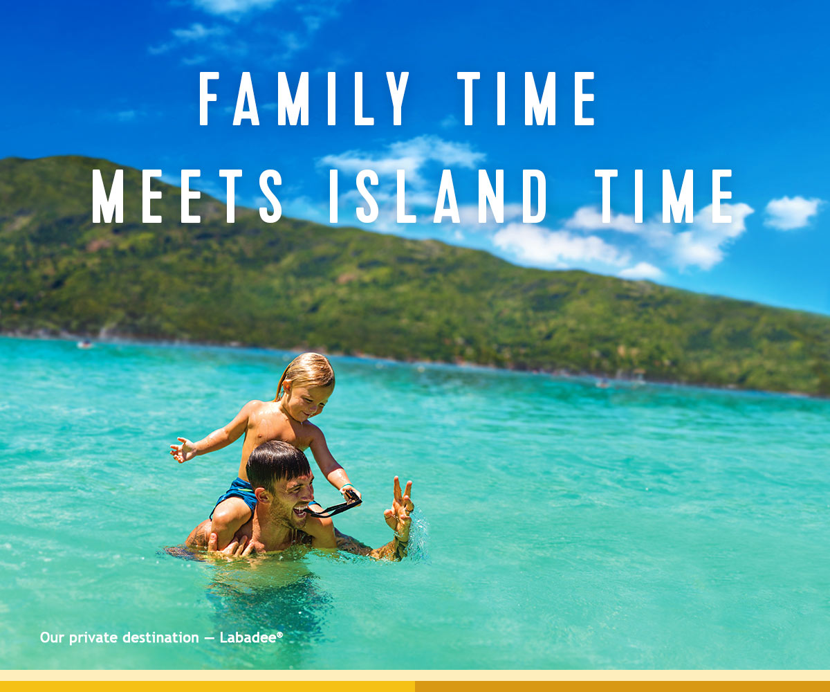 FAMILY TIME MEETS ISLAND TIME