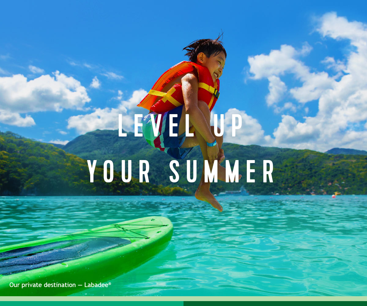LEVEL UP YOUR SUMMER