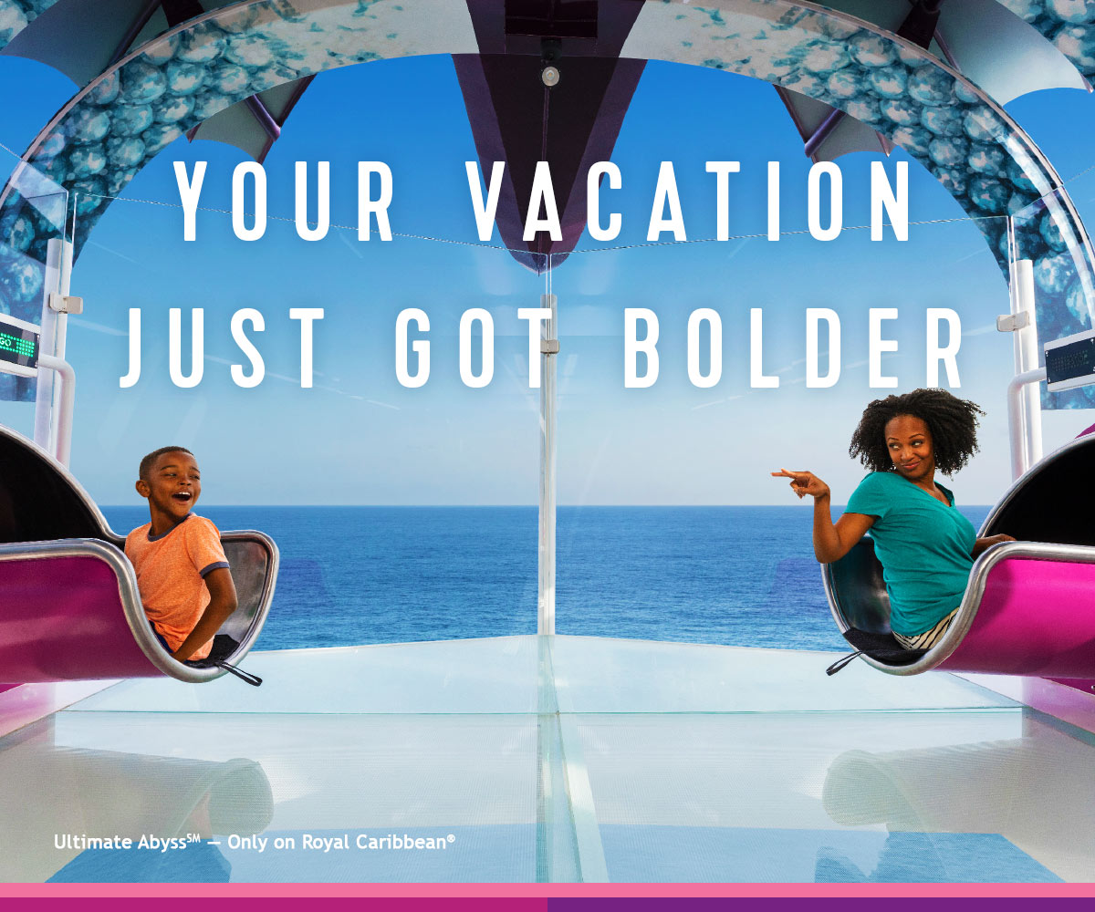 YOUR VACATION JUST GOT BOLDER
