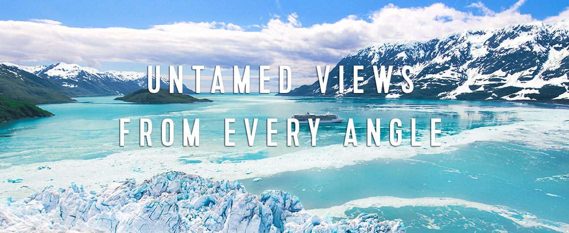 UNTAMED VIEWS FROM EVERY ANGLE