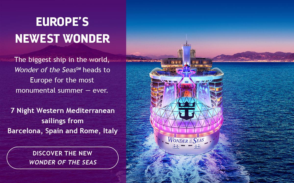 EUROPE'S NEWEST WONDER