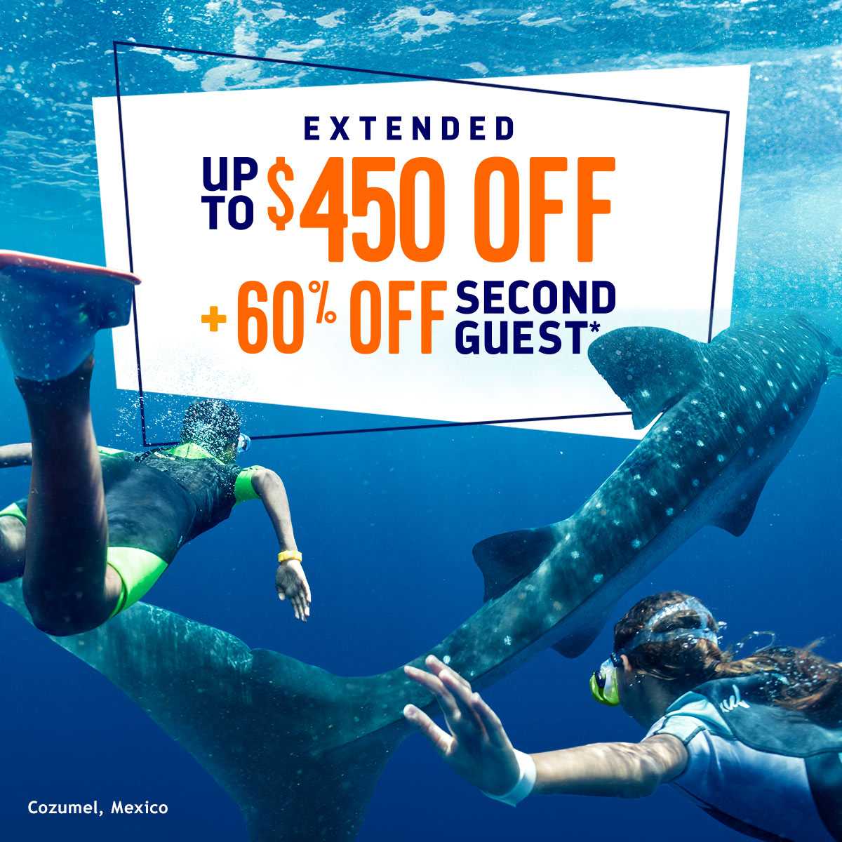 SAVE UP TO $450