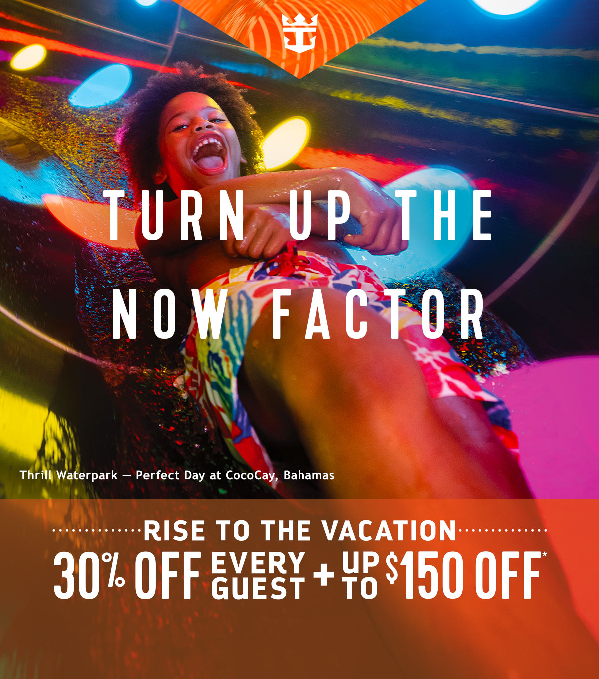 TURN UP THE NOW FACTOR